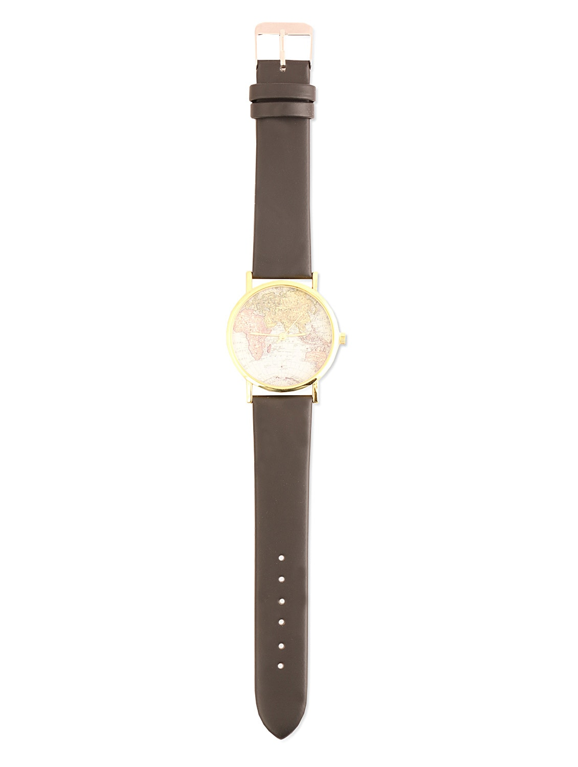 Buy black world map watch by style fiesta online shopping for black world map watch tn1 explore this look hover over image to zoom gumiabroncs Images