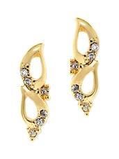 Unique Gold Plated Earrings - Estelle
