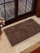 Choco- Brown Tiles Pattern Bath Rug - Homefurry