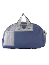 Navy Blue And Grey Duffle Bag - PRESIDENT