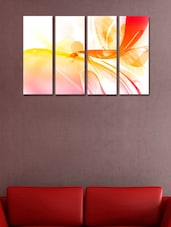Printed Spectrum Wall Art Painting - 4 Pieces - 999store