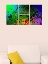 Color Strokes Modern Wall Art Painting - 999store