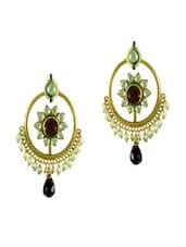 Beautiful Floral Motif Earrings - Swanvi