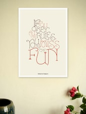 Katharine Hepburn  Quote Art Poster - Lab No. 4 - The Quotography Department