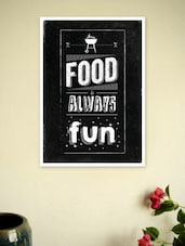 Restaurant Wall Decor Quotes Poster - Lab No. 4 - The Quotography Department