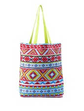 Colourful Tribal Print Bag - Be... For Bag