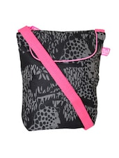 Panther Print Black Sling Bag - Be... For Bag