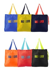 Set Of Colourful Youth Bags (Set Of 6) - Be... For Bag