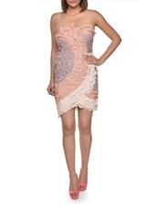 Strapless Scalloped Petal Dress - FOREVER UNIQUE