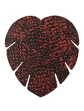 BLACK AND PINK HEART COASTERS ( Set Of 6 ) - Lumber Gifts