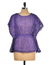 Purple Lace Top - Meee!