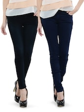 Combo Of Navy Blue And Deep Blue Jeans - Dashy Club