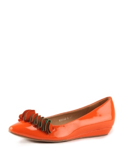Orange And Red Sandals - Tresmode