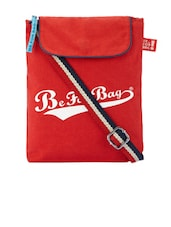 Red Canvas Sling Bag - Be... For Bag