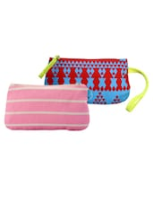 Multi-coloured Pack Of 2 Wristlet Combo - Be... For Bag