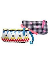 Multi-coloured Pack Of 2 Wrislet Combo - Be... For Bag - 951167
