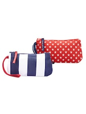 Blue And Red Pack Of 2 Wrislet Combo - Be... For Bag