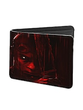 Black Leather Riddick Leather Wallet - By