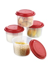 Air Tight Food Savers Round Big Containers - Prime Housewares