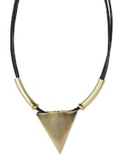 Golden Triangle Statement Necklace - YOUSHINE