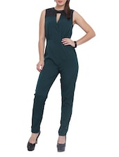 Green And Black Jumpsuit - Pera Doce