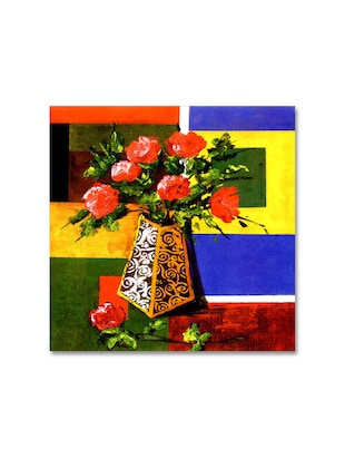 Multicoloured Premium Printed Painting on Canvas
