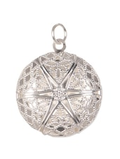 German Silver Falling Star Inspired Pendant - Blinglane