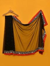 Deepika Padukone Ye Jawani Deewani Black Net Saree - Vamika