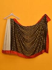 Mandira Bedi Black & Cream Saree - Vamika