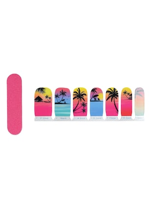 Life is a beach Nail Art Stickers