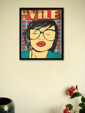 Vile Girl  Framed - Wall Poster  Framed - Wall Poster - BCreative