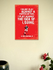 Eric Cantona Quote Poster - Seven Rays
