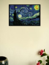 Starry Night By Vincent Van Gogh Framed Poster - Seven Rays