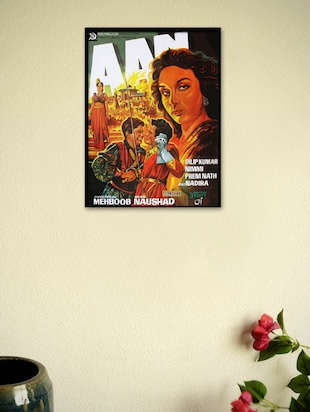 Aan Movie Framed Poster