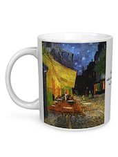 The Cafe Terrace By Vincent Van Gogh Mug - Seven Rays