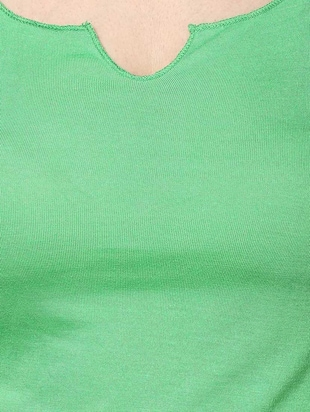 b0fcca4fa8eff8 Set of 2 solid spring green viscose tops - 9670647 - Standard Image - 5 ...