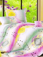 Amazing Printed Bright Bed Linen With Pillow Covers - Skap