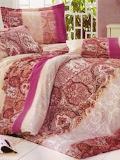 Royal Printed Amazing Bed Linen With Pillow Covers - Skap