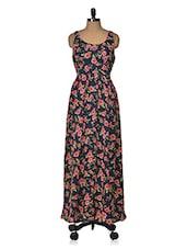 Printed Long Dress - Vivaa