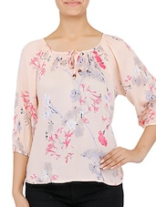 pink Rayon blouse -  online shopping for Blouses