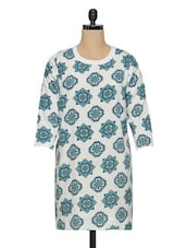 Multicolored  Polyester Printed Tunic - Oxolloxo