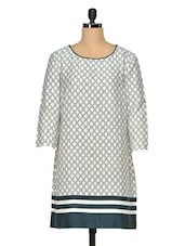 Graceful Printed Polyester Tunic - Oxolloxo