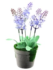 Artifical Flower With Pot - Importwala