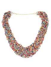 Multicolour Glass Beads Necklaces. - By