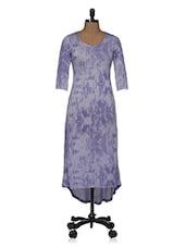 Blue Tie Dye Maxi Dress - Magnetic Designs