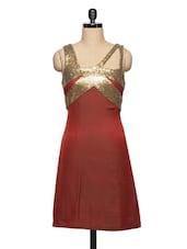 Sexy Red Party Dress - Ozel Studio