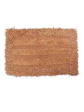 Multifunctional Brown Cotton Floor Mat - Just Linen