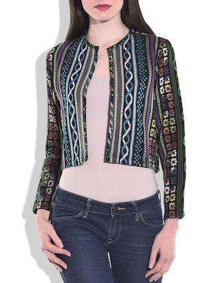 Multi colored COTTON  Summer Jacket
