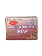 Natural Color, Anti Pimple Herbal Soap For Pimples With Natural Extracts - By
