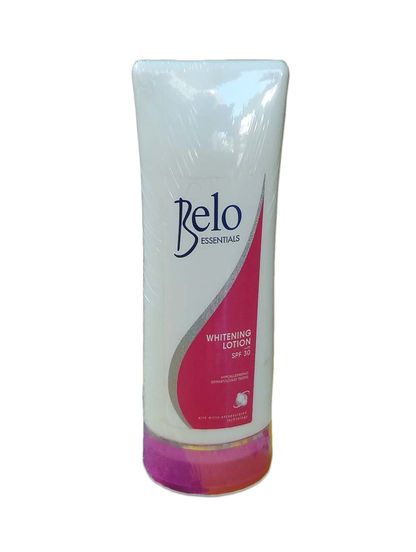 Belo Essentials Herbal Lotion With SPF30 For Whole Body Whitening With Natural Extracts - By